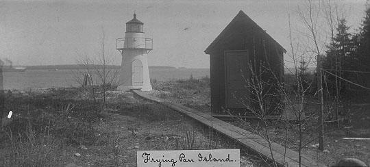 Frying pan island lighthouse