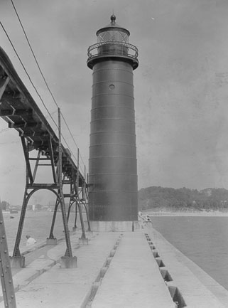 Grand Haven Lighthouse Mi